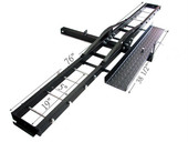 500 lb Motorcycle Carrier Hitch Hauler Dirtbike Ramp