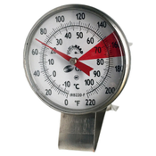 """Visions Thermometer: 1.5"""" face, 5'' stem"""