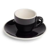 Renaissance Cup & Saucer, 2 oz,  Black