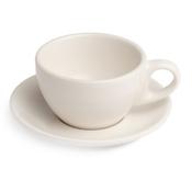 Renaissance Cup & Saucer, 10 oz, White