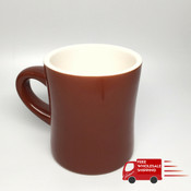 Revolution Diner Mug Brown 11oz
