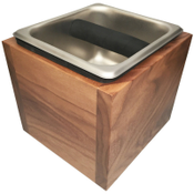 Revolution Knockbox Deep Holder, Black Walnut