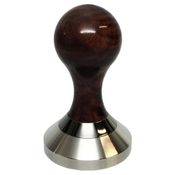 shown in black walnut handle with black chrome ring