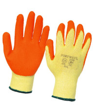 12 x Latex Work Gloves