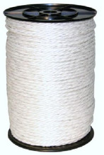 6mm Electric Poly Rope White 400m