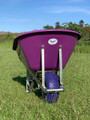 160L OX Wheelbarrow with Wide Boy Tyre