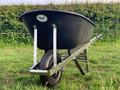 OX Wheelbarrow Black 120L