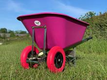 OX Pink Wheelbarrow 200L