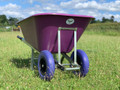 OX Purple Wheelbarrow 200L
