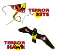 Terror Kite + Hawk Bird Scarer Kit