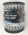 Zebra Power Electric Fence Rope 400m