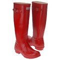 Pair of Hunter Red Original Tall Wellington Boots