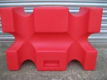 Red Mustang block
