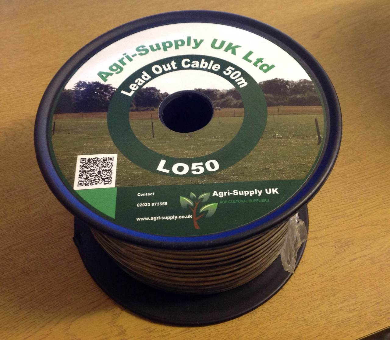 Agri-Supply 50m Lead Out Cable