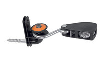 Rope tensioner with a roller screw-in insulator included as standard.