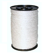 White Electric Fence Rope
