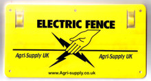 Agri-Supply Electric Fence Warning Sign Front