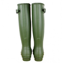 Hunter Original Tall Leather Lined Boots Vintage Green