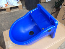 Blue Plastic Float Drinker 4L