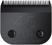 WAHL #40 Full Tooth Competition Blade set