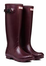 Hunter Norris Field Burgundy Boots