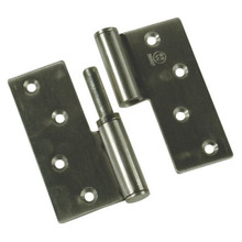 Rising Butt Ball Hinge 89mm x 89mm