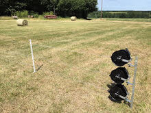 Post & Wire Electric Fence Reel Kit