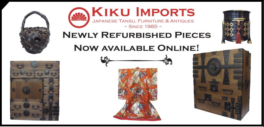 Kiku Imports refurbished antique furniture