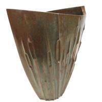 6M312 Bronze Flower Vase /