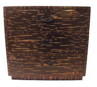 7M149 Cherry Bark Personal Storage Chest (Kabazaiku)