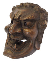8M246 Wooden Mask