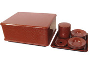 8M261 Lacquer Tea Set with Box / SOLD