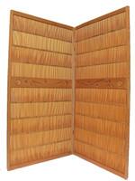 8M399 Summer Doors A Pair Wave / SOLD