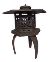 9M202 Iron Garden Lantern / SOLD
