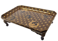 9M320 Lacquer Tray with Makie