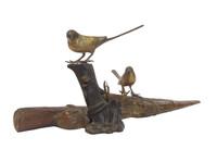 9M332 Okimono Birds