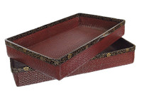 10M59 Kimono Tray with Makie A Set