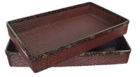 10M60 Kimono Tray with Makie A Set