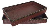 10M60 Kimono Tray with Makie A Set