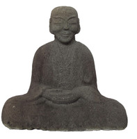 10M78 Stone Statue of Buddhist Monk