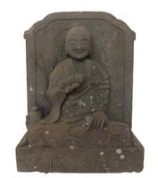 10M79 Stone Statue of a Buddhist Monk