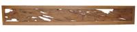 10M109 Ranma Cypress Frame Red Pine Burl Panel