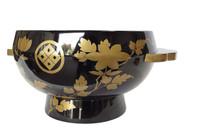 10M144 Ohaguro Lacquer Bowl