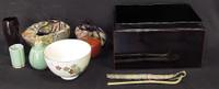 10M166 Cha Bako Tea Box for Tea Ceremony / SOLD