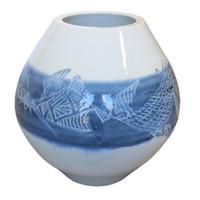 10M180 Studio Pottery Ikebana Vase