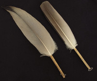 10M283 Feather Habouki A Set for Tea Ceremony