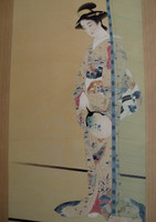 11M426 Kakejiku Scroll Bijin Beauty