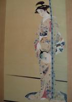 11M426 Kakejiku Scroll Bijin Beauty