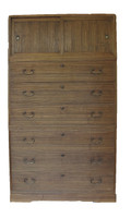 12A2 Kimono Isho Tansu 3 Section
