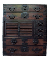 12D4 Choba Tansu / Merchant Chest